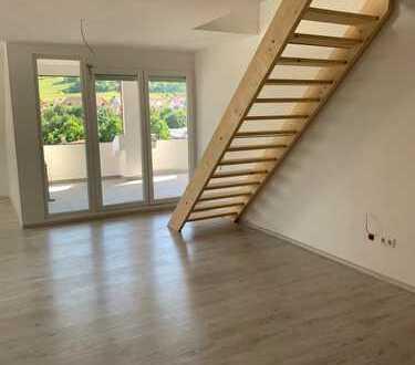 Neu errichtete, schöne helle 3,5 Zimmer Dachgeschoss-Maisonette-Wohnung in Albstadt-Ebingen