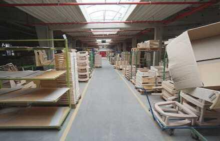 Produktions-/Lagerhalle im Kreis Herford zu vermieten (Auch Teilflächen)