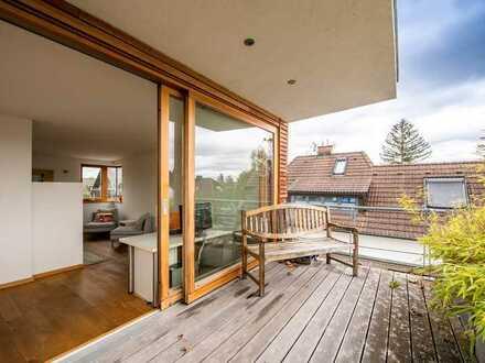 Freistehendes Einfamilienhaus mit Einliegerwohnung in Obermenzing