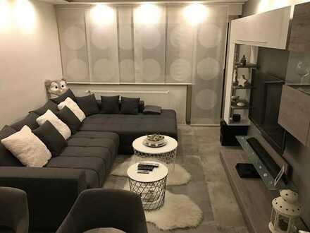 Modernisierte 3,5-Zimmer-Wohnung mit Balkon und Einbauküche in Ludwigsburg