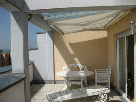 Möblierte Dachterrasse-Wohnung, Scharnhauser Park