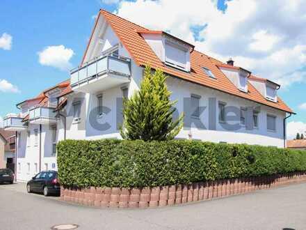 Schöne 4-Zi.-EG-Maisonette-Whg. mit Terrasse im Zentrum von Rülzheim
