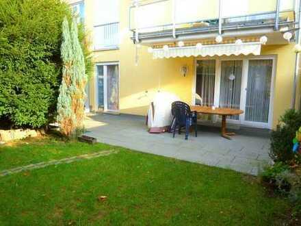 Moderne 3,5-Zimmer-ETW mit schönem Garten in ruhiger Lage!