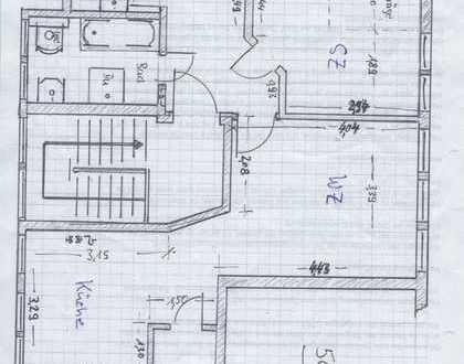 Schöne zwei Zimmer Wohnung in Mittelsachsen (Kreis), Bobritzsch . Bezugsfertig