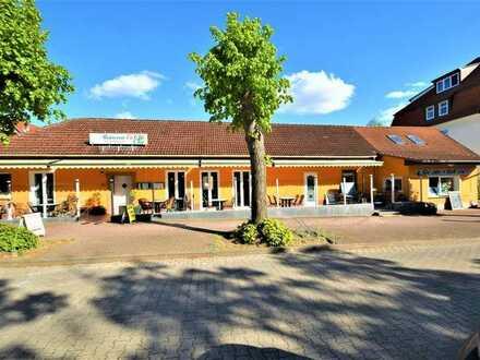 Seebad Ueckermünde Restaurant-Café-Eisdiele mit attraktiver Gästeterrasse inmitten der Altstadt