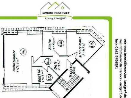 Vermietete 2 Zimmer Dachgeschoßwohnung !!!Provisionsfrei für den Käufer!!!