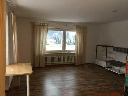 Modernisierte 2-Raum-Wohnung mit Balkon und Einbauküche in Bad Herrenalb