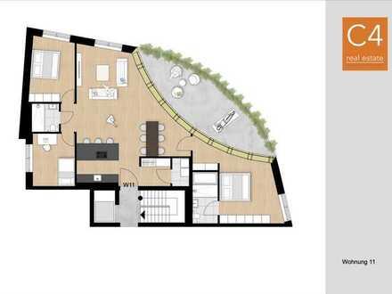Elegante Vorstadt Etagenwohnung mit großzügiger Loggia