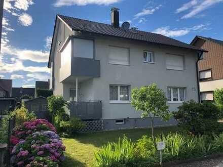 Exklusive, modernisierte 3,5-Zimmer-Erdgeschosswohnung mit Terrasse und Gartenanteil in Durmersheim