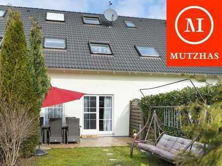 MUTZHAS - PROVISIONSFREI! Neuwertiges Reihenhaus am Münchner Stadtrand zu verkaufen