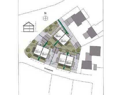 Möglichkeiten einer Bebauung mit 3 Neubau-Doppelhäusern im Zentrum von Neugablonz
