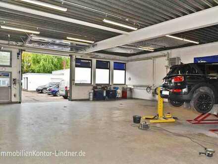 Halle mit Sozialräumen und 3 Büros, angenehme Arbeitsplätze in verkehrsgünstiger Lage in Ulm