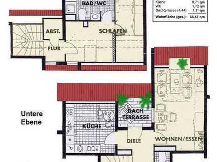 Wunderschöne, helle 2,5 Zimmer Dachgeschoss-Maisonette-Wohnung in Mainz-Kastel von privat