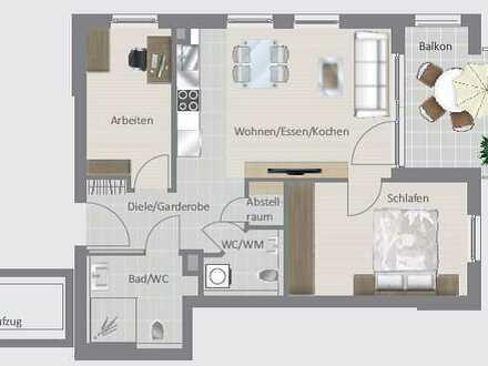 Moderne und barrierefreie 3,5-Zimmer-Wohnung!