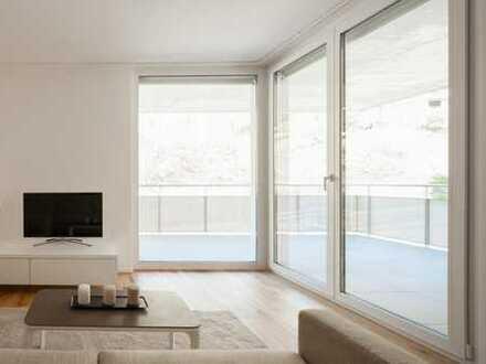 Schöne 3-Zimmer-Neubau-Wohnung in exzellenter Lage mit großem Südbalkon und hochwertiger Ausstattung