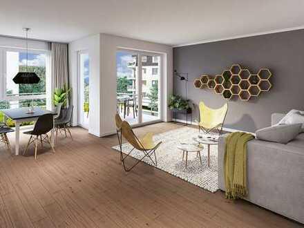 Nachhaltige 2-Zimmer-Neubauwohnung mit Balkon in zukunftsorientierter Lage