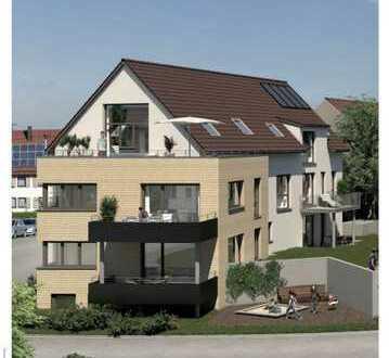 Erstbezug mit EBK und Balkon: exklusive 4-Zimmer-Wohnung in Weinstadt-Beutelsbach