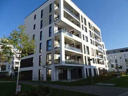 Südstadtgärten, 2 Zimmer mit eigenem Gärtchen! Fußbodenheizung, EBK, TG