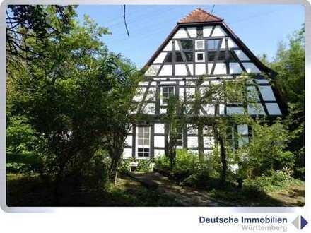 Private Hideaway: Historisches Mühlenanwesen ( 2 Gebäude) in Alleinlage!