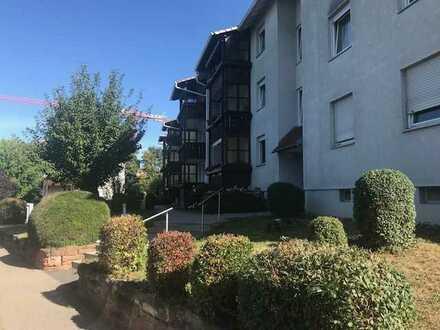 3-Zimmer Eigentumswohnung ( vermietet) 1.OG mit Balkon und Garage