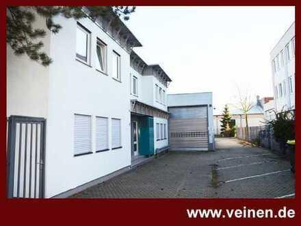 Funktionales und gepflegtes Bürogebäude mit Lagerhalle