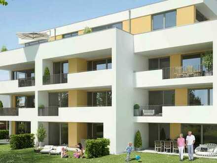 Neubau-3-Zimmer-Wohnung im Erstbezug mit sehr hochwertiger Austattung