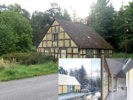 Baugrundstück Uckermärkische Seen 1h von Berlin inkl. genehmigter Entwurf