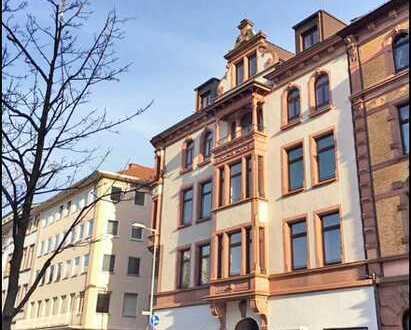 LUITPOLDHAUS - HISTORIE - MODERNE Stilvolle 2-Zimmer Altbau-DG Wohnung mit Loggia