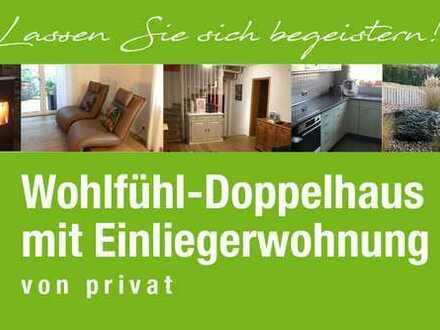 Traumhafte Doppelhaushälfte mit ELW mit toller Aussicht in Oberboihingen