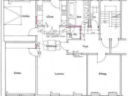 Helle, großzügige 4-Zimmer-Wohnung mit Terrasse in Oberesslingen