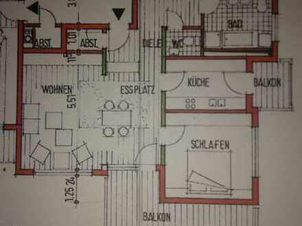 Gepflegte 3,5-Zimmer-Wohnung mit Balkon und EBK in Giengen an der Brenz
