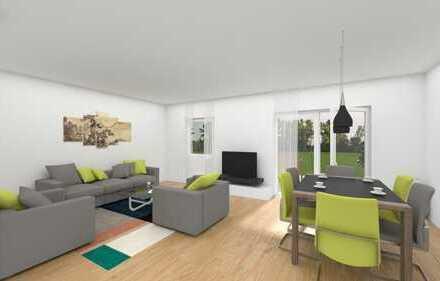 Neubau-Reihenmittelhaus in Holzrahmenbauweise zur Miete, Bezug Frühjahr 2020!