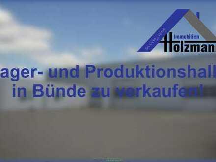 Lager- und Produktionshalle in Bünde - Holzmann Immobilien
