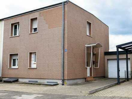Moderne und teilsanierte Doppelhaushälfte in Aldenhoven