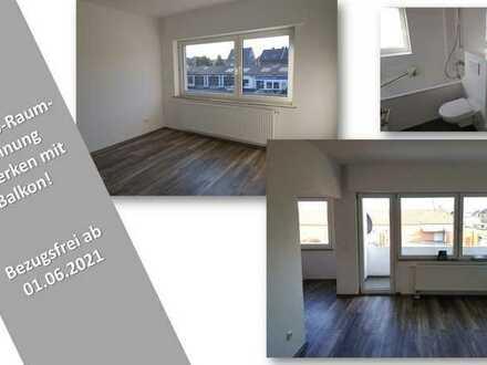 3-Zimmer-Wohnung mit Balkon in ruhiger Wohnlage!