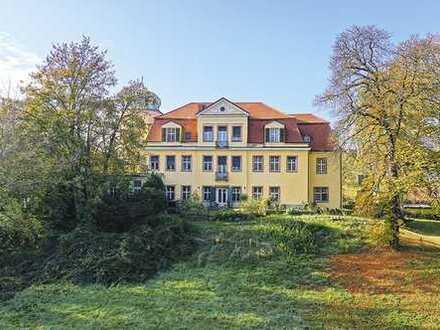 Gut Schloss Gundorf in Leipzig mit Reitsportanlage, Schloss mit Park, Mehrfamilienhäuser usw.