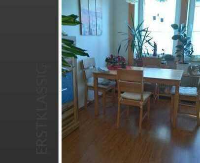 3 Zimmerwohnung ab sofort frei - Gartenanteil + Garage möglich