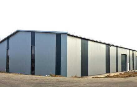 Direkt an der A8 Dasing - Gewerbegebiet Acht300 - Lager-/Produktionshalle PROVISIONSFREI