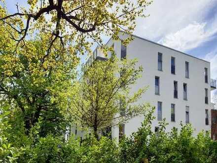 Exklusives Wohnen in Isarnähe, mit Penthouse-Feeling und Alpenblick