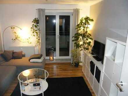 Neuwertige 2-Zimmer-Wohnküche-Diele-Bad, Balkon, neue EBK, 61 m², 2.OG, Kfz-Stellpl., ab 01.04.2019