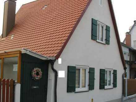 Kleines Häuschen in Nördlinger Innenstadt als Praxis- oder Büroräume zu vermieten