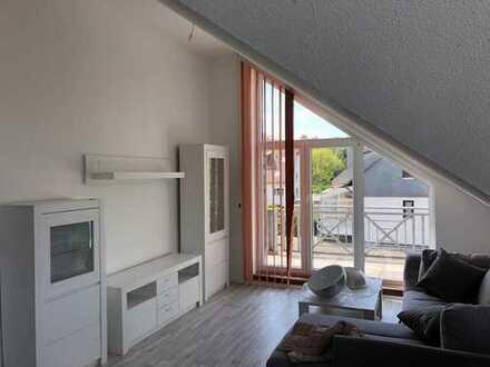Neuwertige 1-Zimmer-Dachgeschosswohnung mit Balkon in Bochum