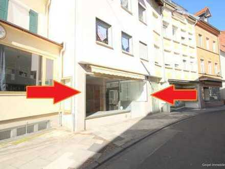 geipel.de - Ladenlokal in der Fußgängerzone