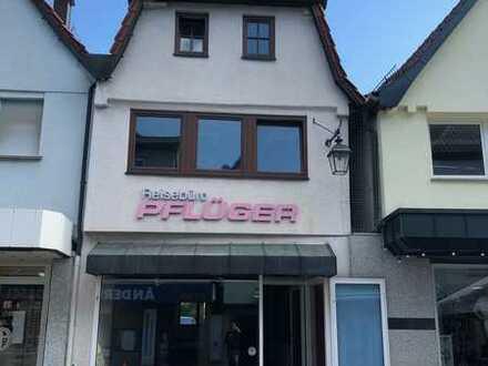 Geschäftshaus - Einzelhandel - Gastro mit 192qm in 1A Lage Fußgängerzone
