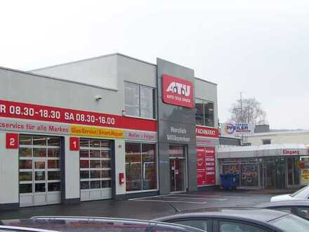 KFZ-Werkstatt mit Shop und Lager