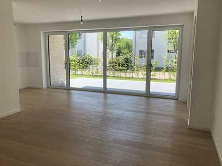 Neubau/Erstbezug Moderne 3-Zimmer-Wohnung mit großer Südterrasse