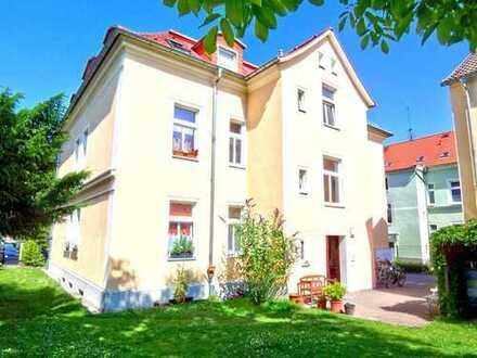 Moderne 3-R-Wohnung mit gemeinschaftlichen Garten in Bautzen