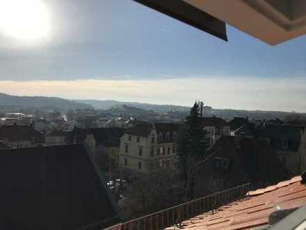 Erstbezug: 5-Zimmer-Maisonette-Wohnung mit Loggia in Meißen