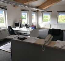 Helles Büro in Landsberg