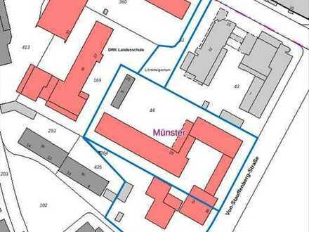 Entwicklungsfläche ehem. LZG mit Auflage für min. 70 % geförderten Wohnungsbau